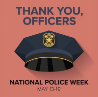 Police Week - Back the Thin Blue Line